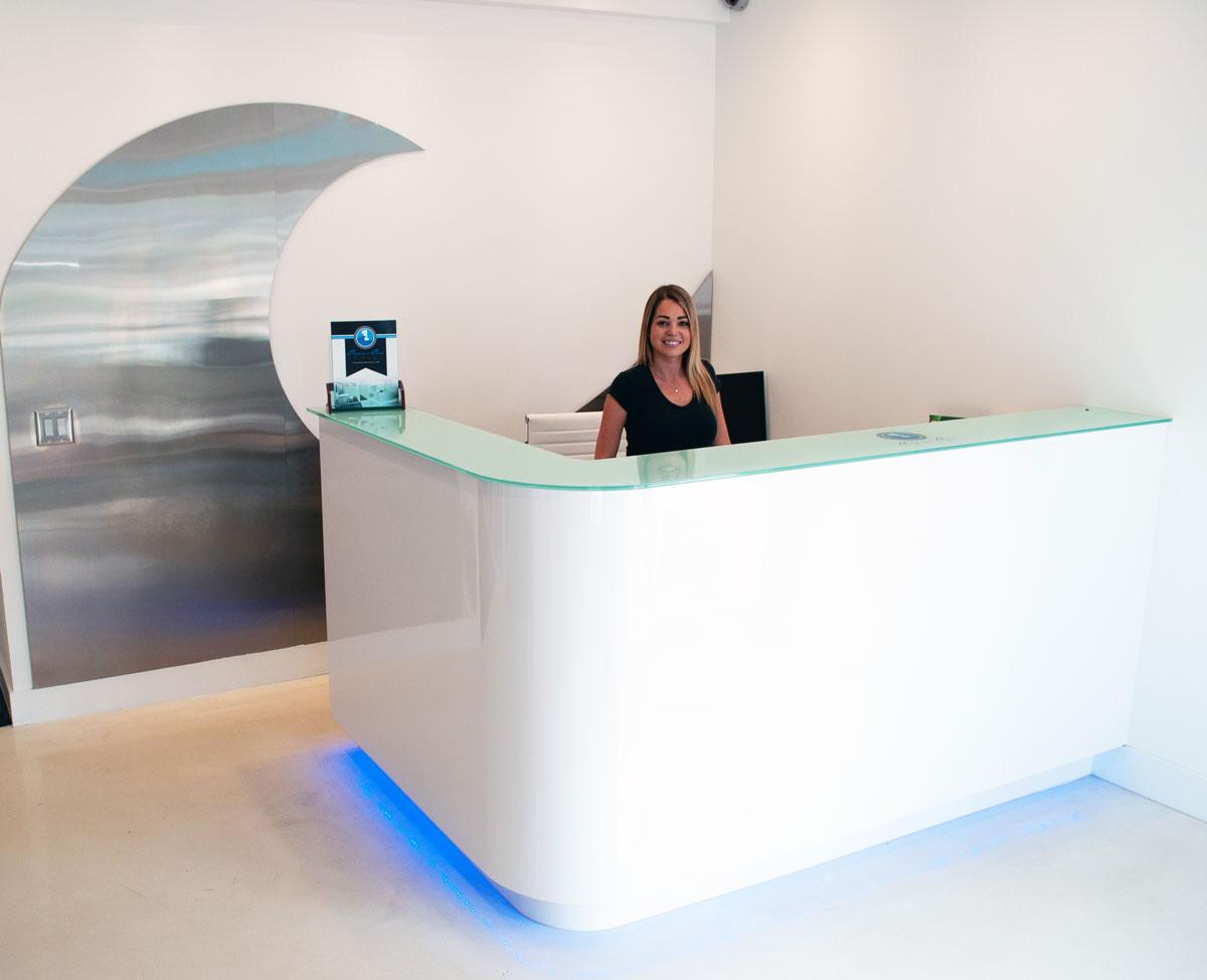 Ocean One Stuart Receptionist
